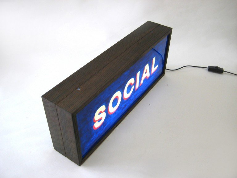 Custom Order Double Sided Lightbox