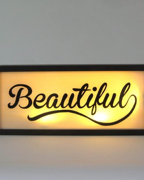 BEAUTIFUL Sign