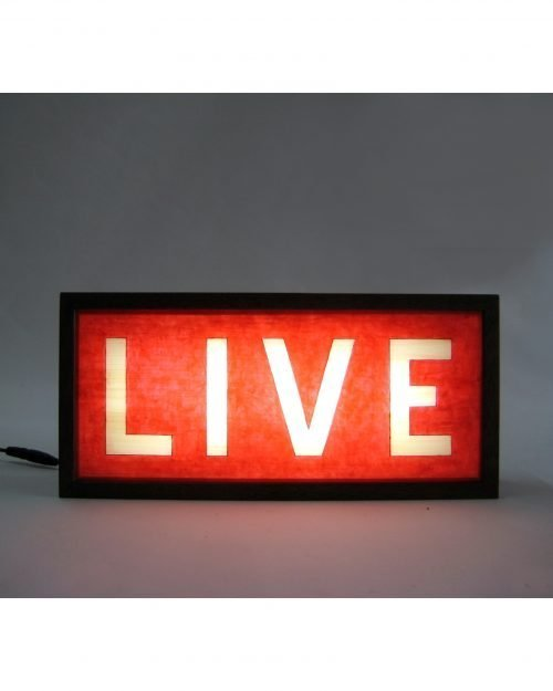 LIVE Sign