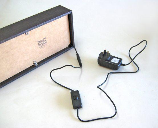 light box backing board