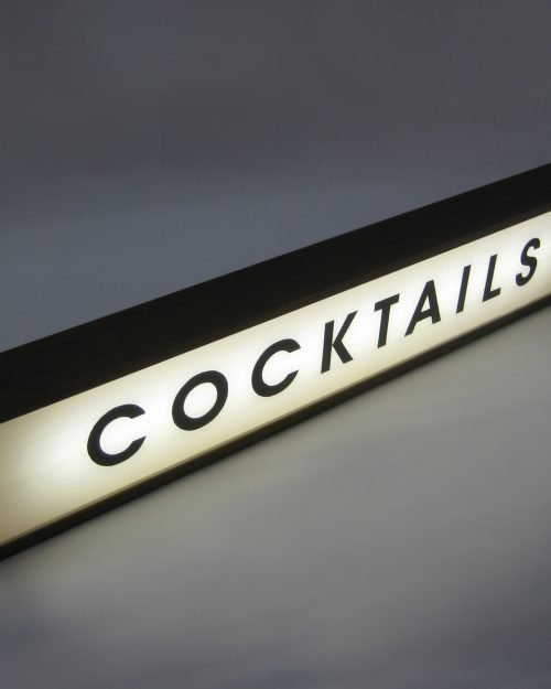 Cocktails Sign