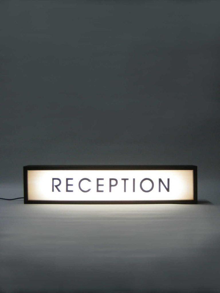 Bespoke Lightbox Sign for V Hotel, Helsingborg, Sweden
